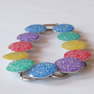 Rainbow Pixel Bracelet 1